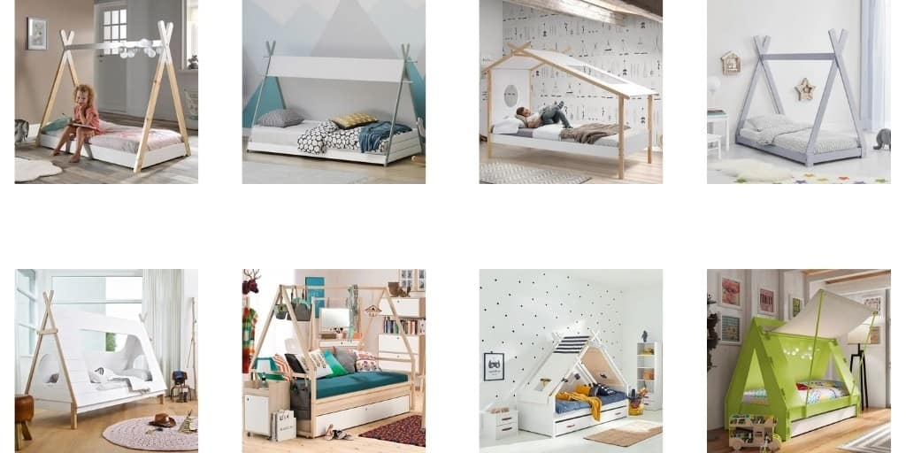 Teepee Beds