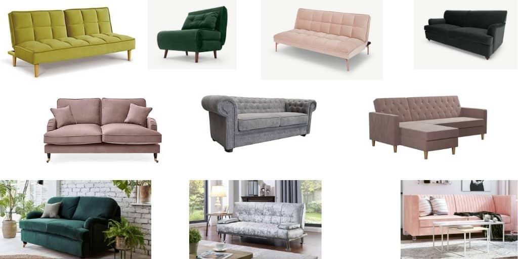 Best Velvet Sofa Beds