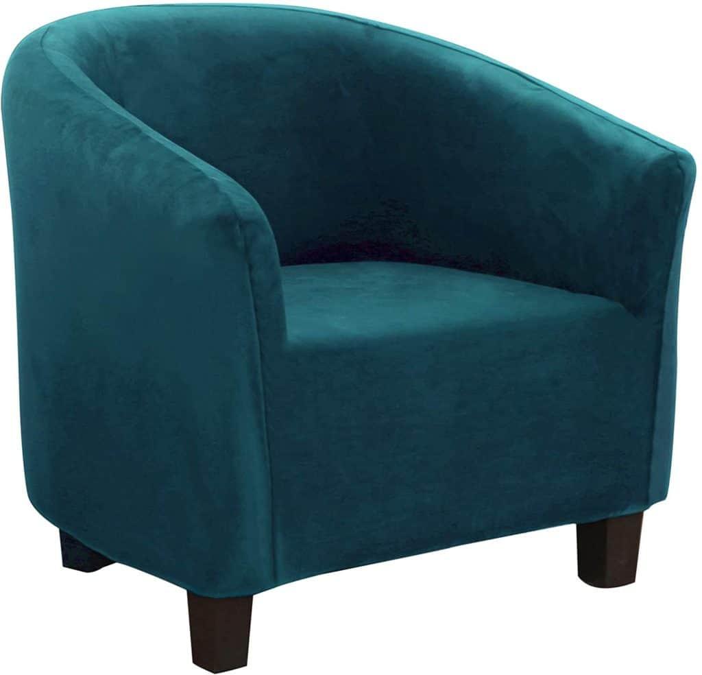 SearchI Velvet Tub Chair Covers