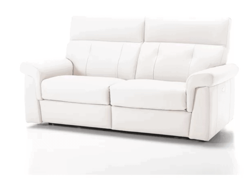 Ditto Genuine Leather Reclining Sofa
