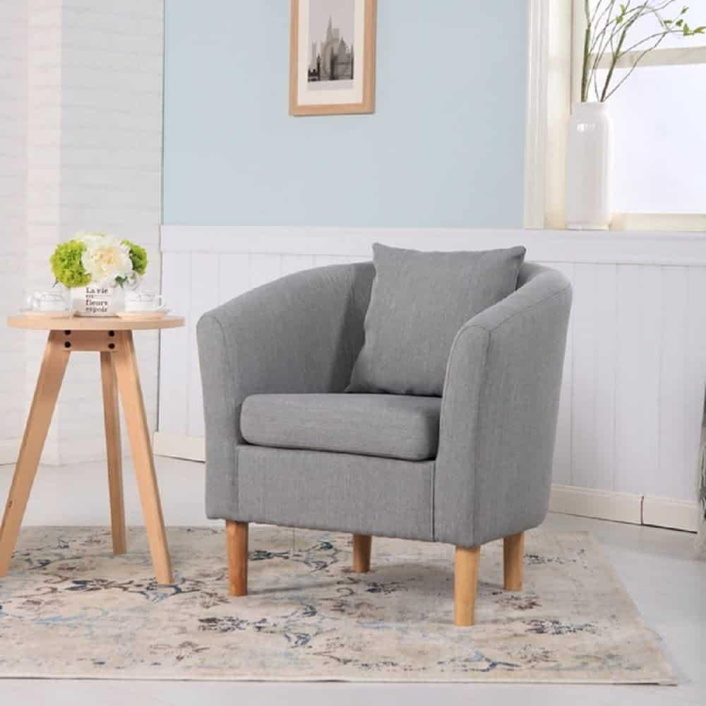 York Fabric Tub Chair