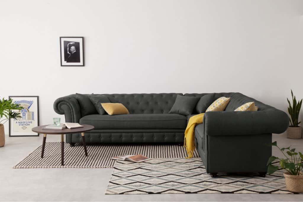 Branagh Corner Sofa, Anthracite Grey