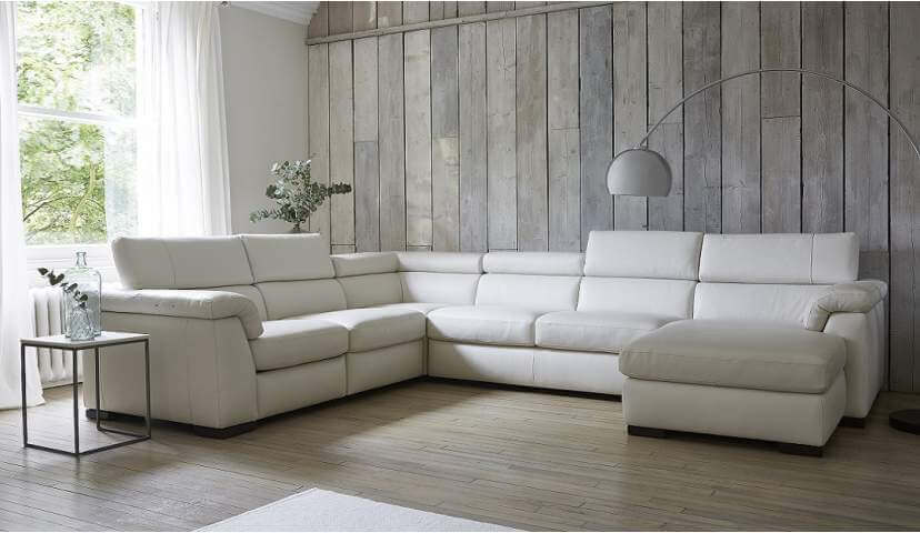 Francesca Large Reclining Corner Sofa With Chaise