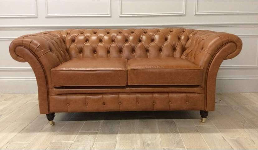 Cromwell 2 seater in Crystal Bruciato