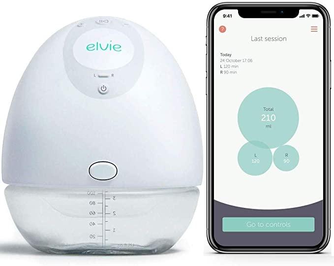 Elvie Pump Single Silent Wearable Breast Pump with App