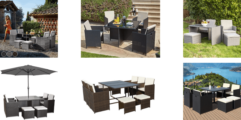 Best Rattan Cube Garden Furniture