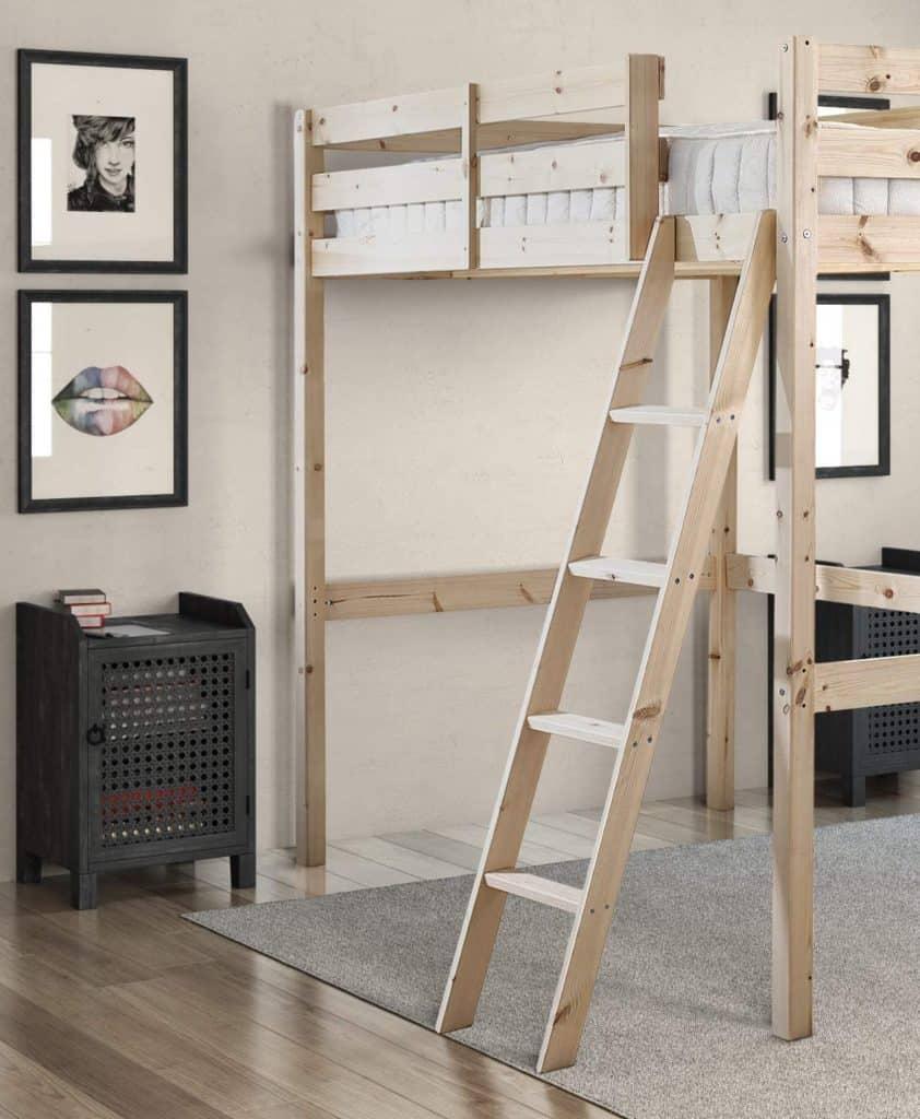 Strictly Beds and Bunks - Celeste High Sleeper Loft Bunk Bed