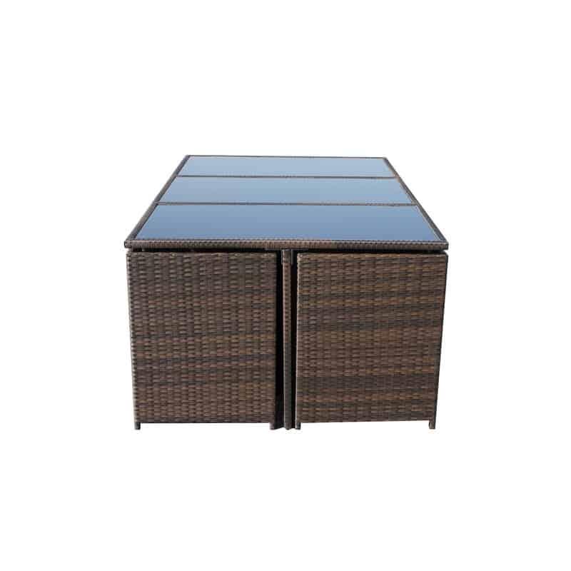 Titcomb 10 Seater Dining Set Cube