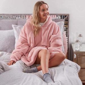 Oversized Blanket Hoodie