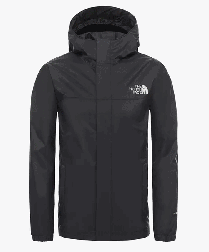 The North Face Boys' Resolve Waterproof Jacket, TNF Black
