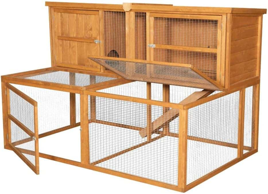5ft kendal Outdoor Rabbit hutch and Run