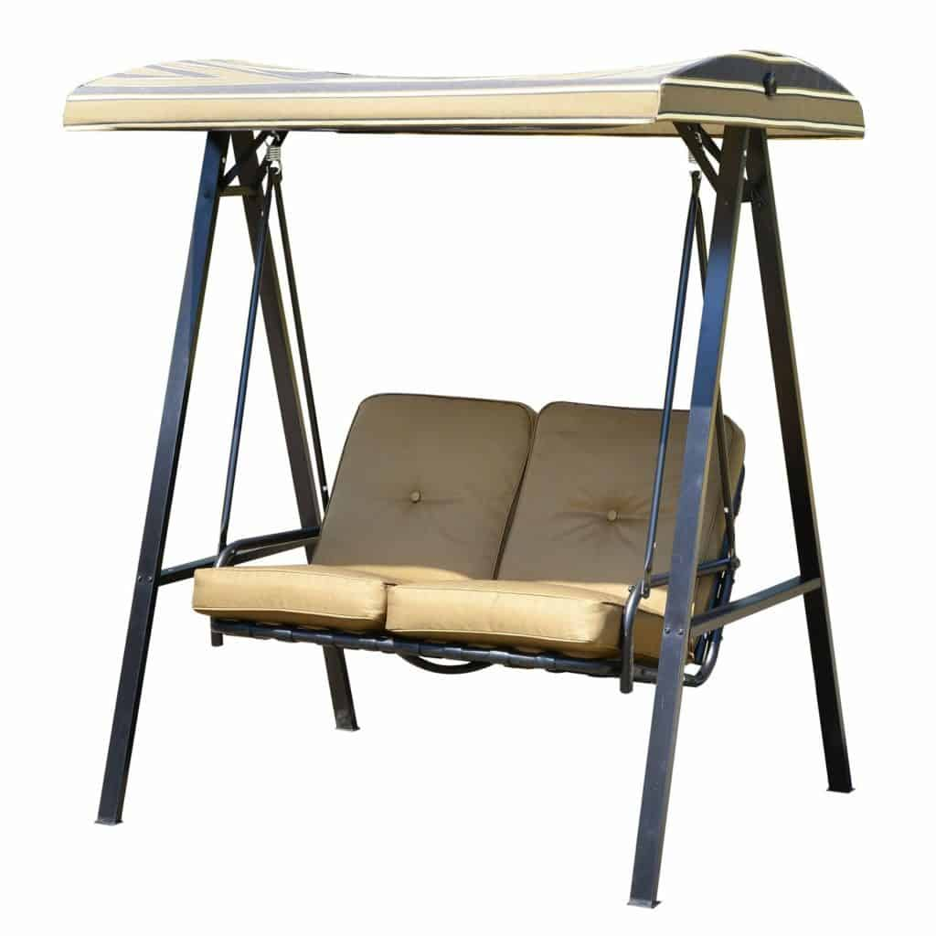 Akins 2 Seater Swing Seat with Stand
