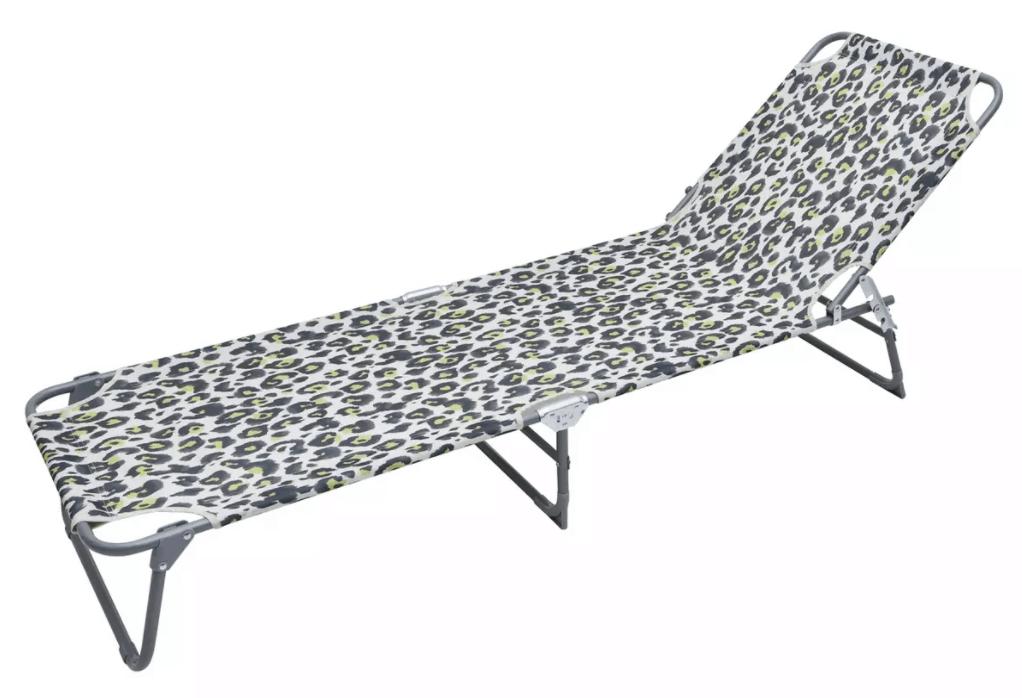 Argos Home Metal Foldable Sun Lounger