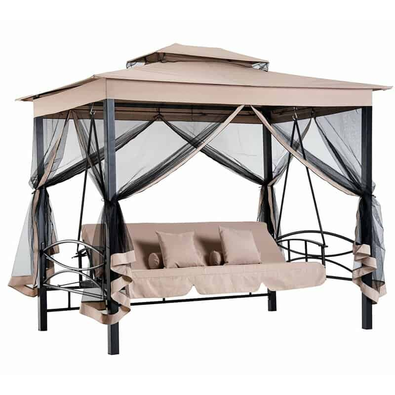 Josephine 3 Seater Swing Seat with Stand
