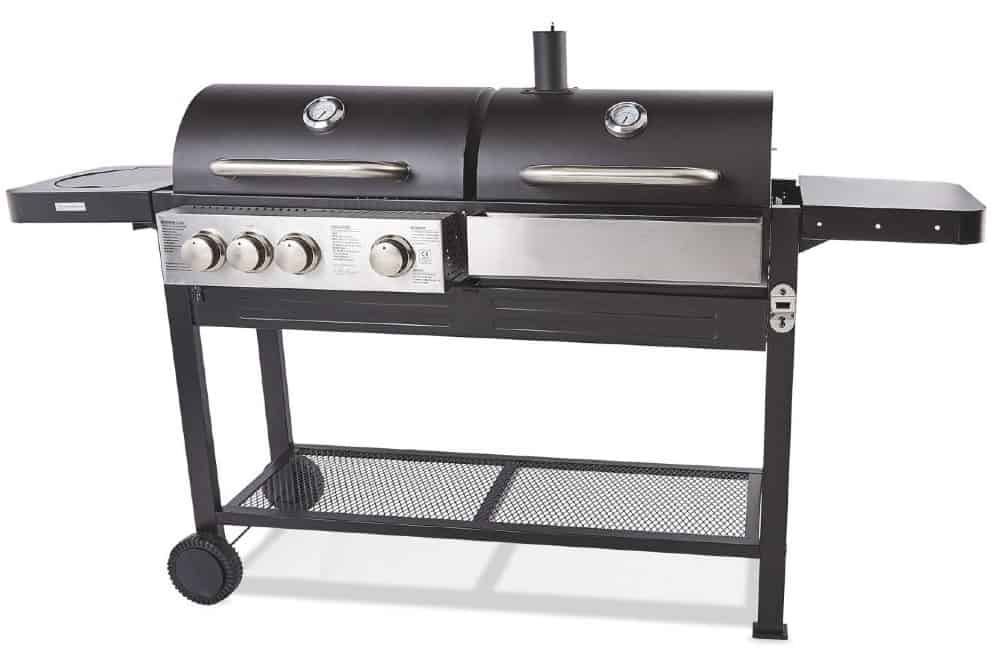 Aldi Dual Fuel BBQ