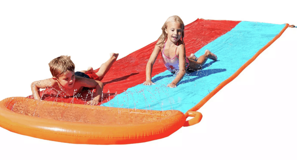 Chad Valley Double Lawn Water Slide