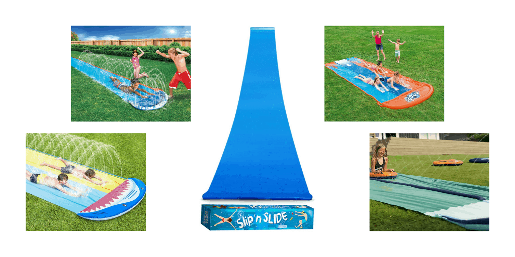 Water Slides - For Your Garden