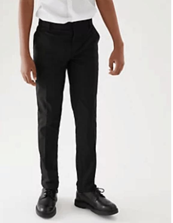 M&S Boys' Super Skinny Leg School Trousers